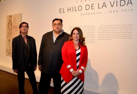 """""""El hilo de la vida"""" de Carlos Arias llega a Capilla del Arte UDLAP"""