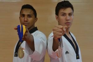 Medalla de oro y bronce para el Tae kwon do Azteca en CONDDE