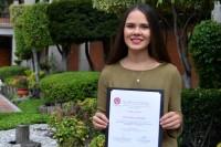 Egresada UDLAP primer lugar nacional de tesis en psicología