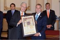 UDLAP recibe Cédula Real de la Ciudad de Puebla