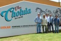 UDLAP realiza mural en homenaje a Cholula