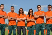 Atletas Aztecas por el sueño Panamericano