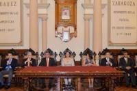 Ceremonia de entrega de Cédula Real de la Ciudad de Puebla