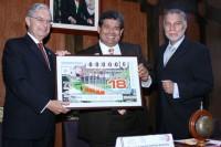 Difundieron billetes de lotería del 75 Aniversario de la Universidad de las Américas Puebla