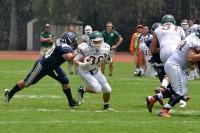 Entrenamiento entre Pumas de la UNAM y Aztecas de la UDLAP