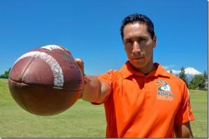 José Manuel Garduño por la triple corona con los Aztecas de la UDLAP