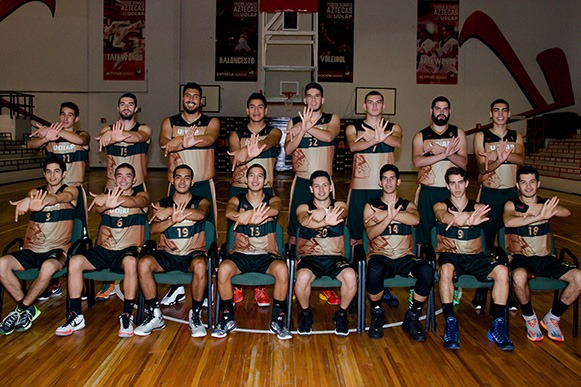Baloncesto varonil 2015 UDLAP