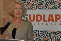 Embajadora de Noruega analiza con estudiantes de la UDLAP la relación México-Noruega