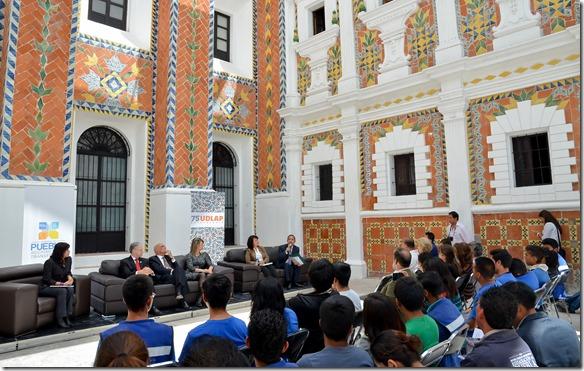 Udlap Y Cecap Presentan Libro Patio De Los Azulejos: azulejos patio
