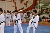 Taekwondo Azteca combate con universidad coreana