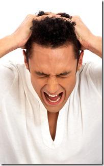 despair and stress