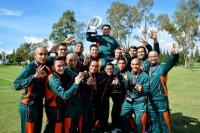 ¡Los Aztecas de taekwondo son Tricampeones de la CONADEIP!