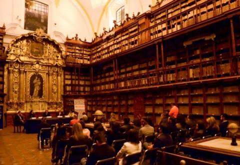 La Universidad de las Américas Puebla y el CECAP celebran el 369 aniversario de la Biblioteca Palafoxiana