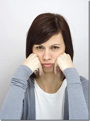 woman-pouting