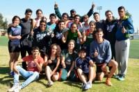 Los Aztecas de atletismo cierran en grande