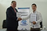 Signa convenio UDLAP – COPARMEX Veracruz