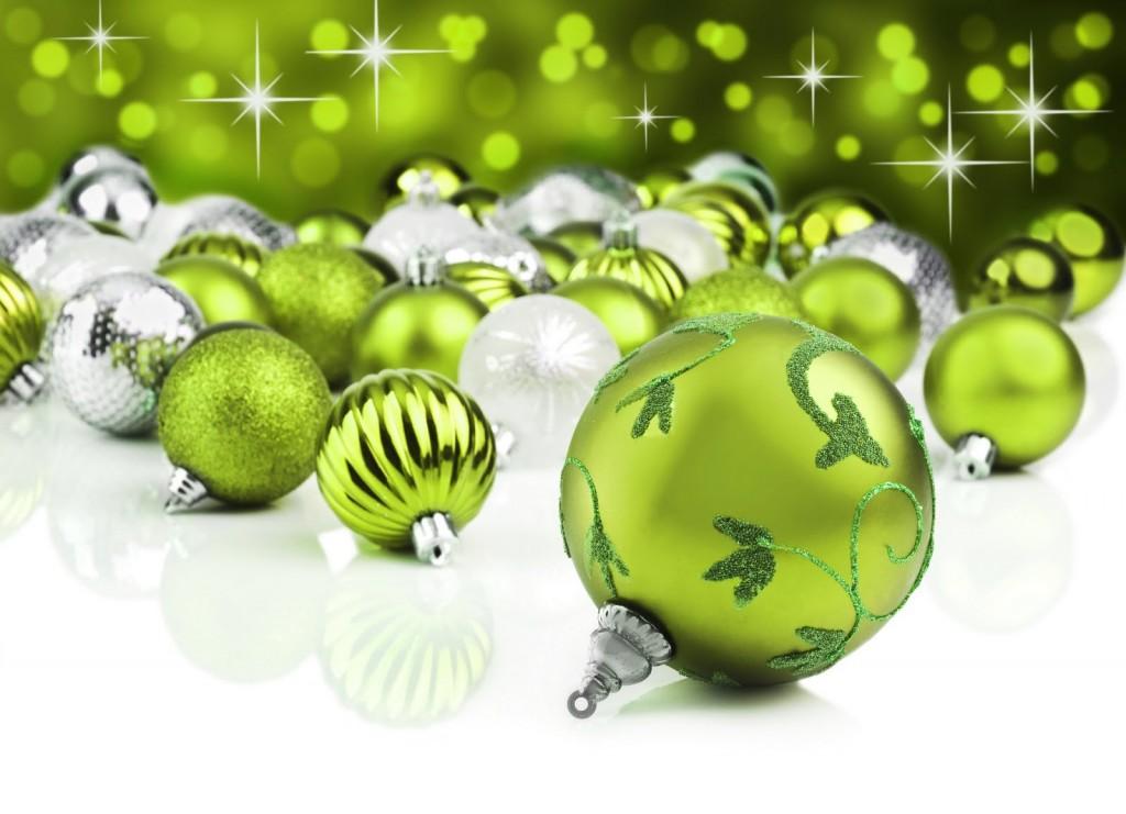 Decoraciones navideñas hechas con tecnología