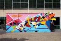 Intervención artística de alumno UDLAP sazona Mercado de Sabores
