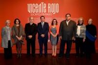 Inauguración Vicente Rojo- Capilla del Arte