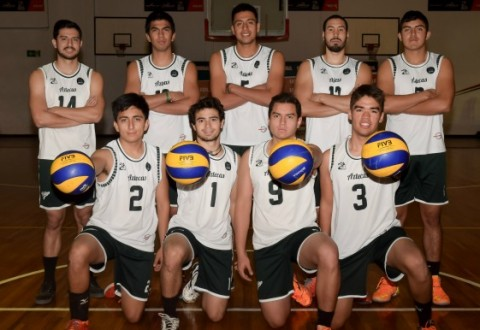Aztecas de voleibol en CONDDE