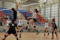 Los Aztecas voleibol avanzan al nacional de CONDDE invictos