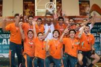 Aztecas UDLAP son Campeones de CONADEIP en voleibol varonil