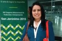 Egresada de la UDLAP participa en Congreso Internacional de Traducción e Interpretación