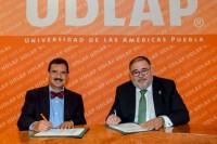 Ratifican convenio de colaboración UDLAP y CONTPAQi, en beneficio de la educación