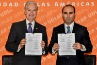 UDLAP y H. Congreso del Estado de Puebla signan convenio de colaboración