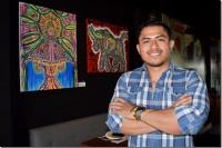 Egresado UDLAP de campeón de boxeo a artista visual