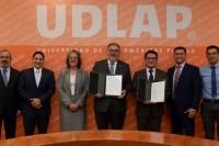 UDLAP y Agua de Puebla firman convenio de colaboración