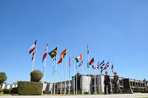 plaza banderas