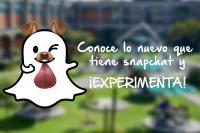 Lo nuevo de Snapchat