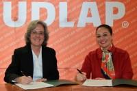 UDLAP y Fundación Amparo firmaron convenio de colaboración
