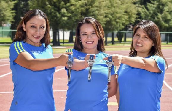 Maratónica vida de corredoras Aztecas