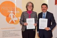 UDLAP y DIF Nacional firman convenio de prácticas profesionales