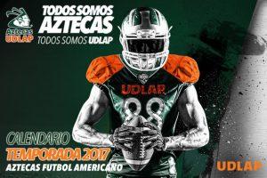 Calendario Temporada 2017 – Aztecas UDLAP FBA