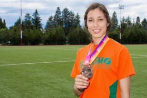 Aztecas UDLAP despiden el año deportivo con dos medallas en atletismo