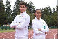 Diana Coraza y Carlos Aldrette tienen su pase directo al Mundial de atletismo