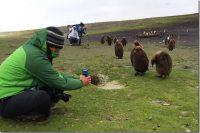 Egresado de la UDLAP realiza trabajo de campo en Islas Falkland