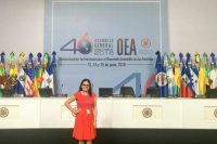 Egresada UDLAP, miembro de la OEA