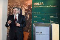 Investigador de la Universidad de Arizona visita y brinda ponencia en la UDLAP y en la UDLAP Jenkins Graduate School