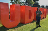 Artista UDLAP es distinguida con la beca Pamela Ann Marquard