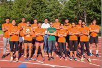 Atletismo Azteca se alista para la Olimpiada Estatal
