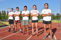Fue una Olimpiada Estatal verde y naranja, Aztecas UDLAP
