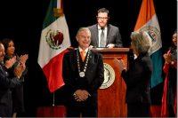 Dr. Luis Ernesto Derbez Bautista recibe investidura como rector de la UDLAP para el periodo 2018–2023