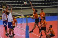 Aztecas UDLAP a un triunfo contundente para coronarse en voleibol varonil
