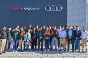 Aprender del éxito es importante, Aztecas UDLAP y Audi México