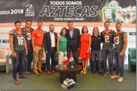 Los Aztecas UDLAP inician la cuenta regresiva hacia la temporada 2018