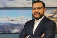 Egresado UDLAP, vicepresidente de Bombardier Aerospace México